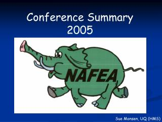 Conference Summary 2005