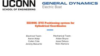 Electric Boat Team Design