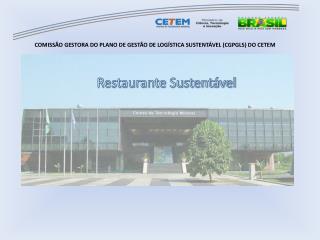 Restaurante Sustent�vel