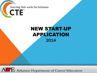 New Start-up Application 2014