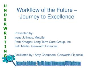 Workflow of the Future – Journey to Excellence