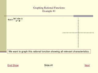 Graphing Rational Functions Example #1