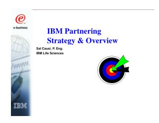IBM Partnering Strategy & Overview