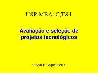 USP-MBA: C,T&I