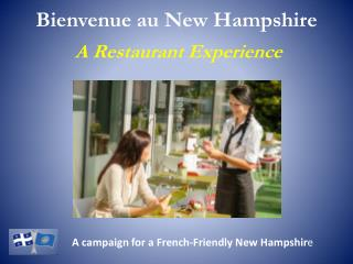 Bienvenue au New Hampshire