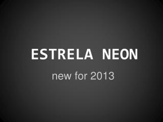 ESTRELA NEON