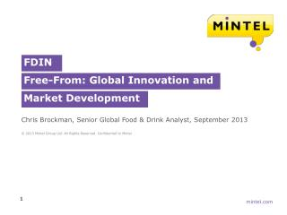 FDIN Free-From :  Global Innovation and Market Development
