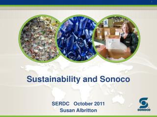 Sustainability and Sonoco