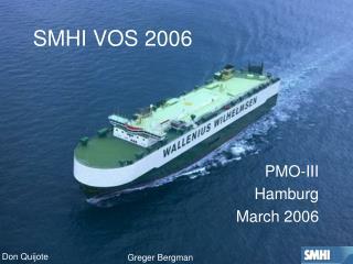 SMHI VOS 2006