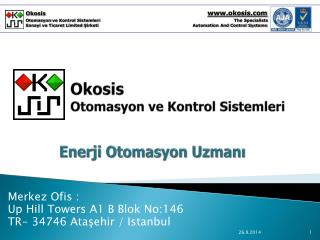 Okosis  Otomasyon ve Kontrol Sistemleri