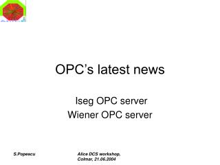 OPC's latest news
