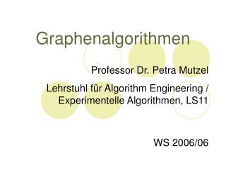 Graphenalgorithmen