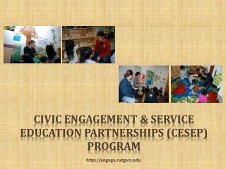 Civic Engagement & Service Education Partnerships (CESEP) Program