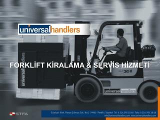 FORKLİFT KİRALAMA &  SERVİS HİZMETİ