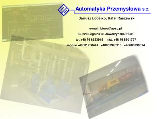 e-mail :  biuro@apsc.pl 59-220 Legnica ul. Jaworzynska 31-35