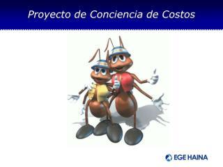 Proyecto de Conciencia de Costos