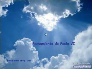 Pensamiento de Paulo VI