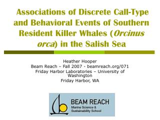 Heather Hooper Beam Reach – Fall 2007 - beamreach/071