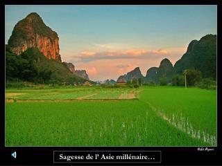 Sagesse de l� Asie mill�naire�