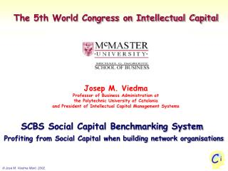 The 5th World Congress on Intellectual Capital