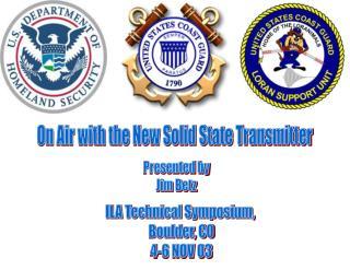 ILA Technical Symposium,  Boulder, CO 4-6 NOV 03