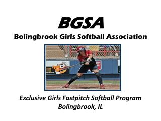 BGSA Bolingbrook Girls Softball Association