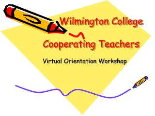 Wilmington College Cooperating Teachers