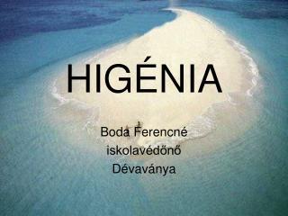 HIGÉNIA