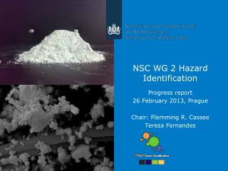 NSC WG 2 Hazard Identification