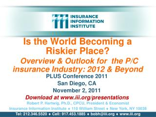 PLUS Conference 2011 San Diego, CA November 2, 2011 Download at iii/presentations