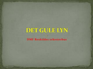 DET GULE LYN