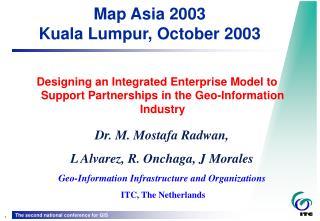 Map Asia 2003 Kuala Lumpur, October 2003
