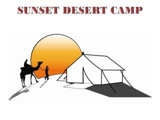 SUNSET DESERT CAMP