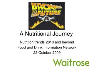 A Nutritional Journey