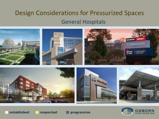 Design Considerations for Pressurized Spaces