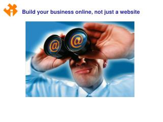 Build your business online, not just a website