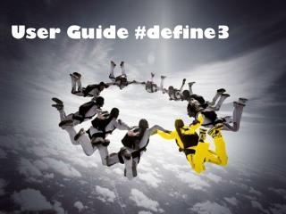 User Guide #define3