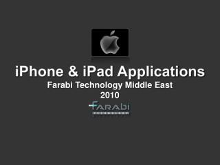 iPhone & iPad Applications