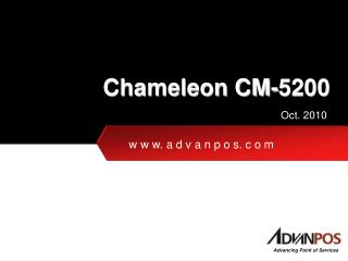 Chameleon CM-5200
