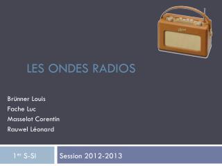 Les ondes radios
