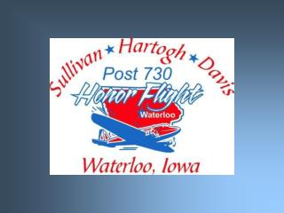 Honor Flight started with  6 airplanes and 12 veterans