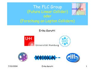 The FLC Group (Future Linear Collider) oder ( Forschung an Lepton Collidern)