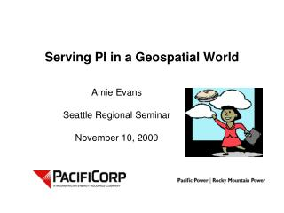 Serving PI in a Geospatial World