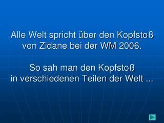 So haben es die deutschen Zuschauer gesehen :