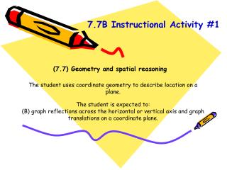 (7.7) Geometry and spatial reasoning