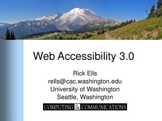 Web Accessibility 3.0