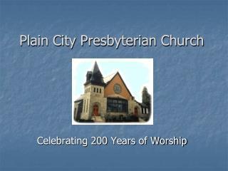 Plain City Presbyterian Church