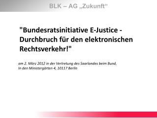 "BLK – AG ""Zukunft"""