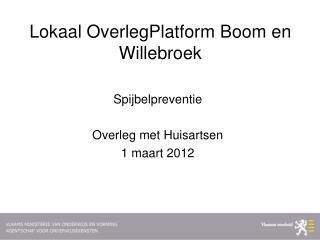 Lokaal OverlegPlatform Boom en Willebroek