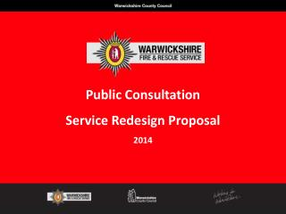 Public Consultation Service Redesign Proposal 2014